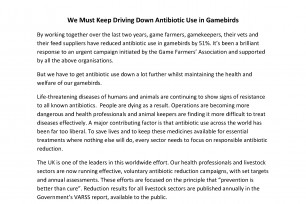 Driving Down Antibiotic Use